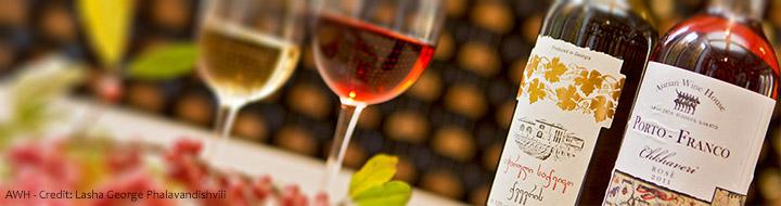 Уникальные виды вина Цоликаури (Белое вино) и Чхавери (Розовое вино)