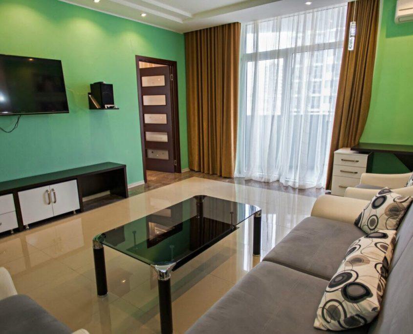 Уютные апартаменты с видом на море в лучшем отеле Батуми - Rock Hotel фото 2