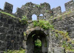 Крепость Гонио в Батуми, стены крепости