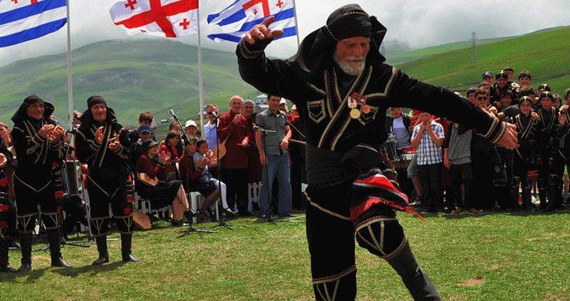 Грузинские традиции в горах