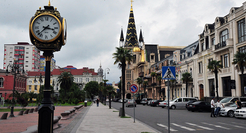 The district in Old Batumi where there is Rock Hotel First Line
