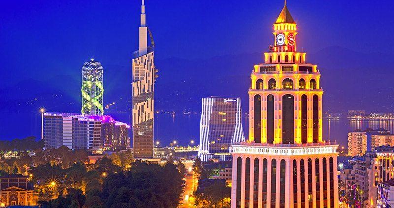 Top 10 sights of Batumi near Rock Hotel First Line