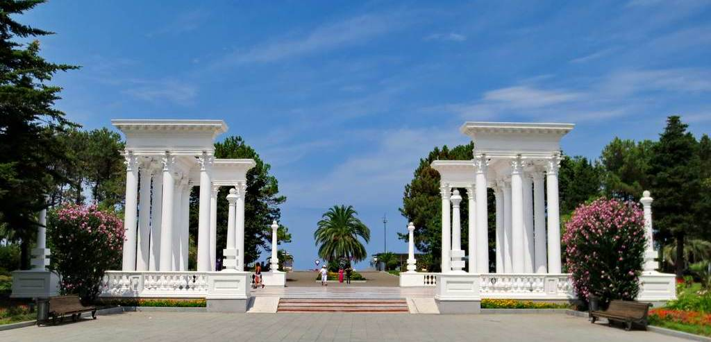 Colonnades in Batumi