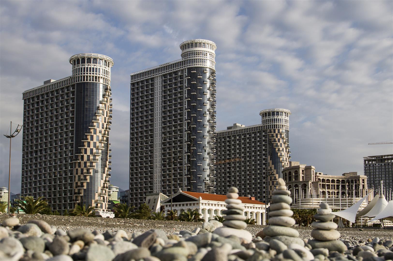 Orbi Sea Towers на Новом бульваре в Батуми