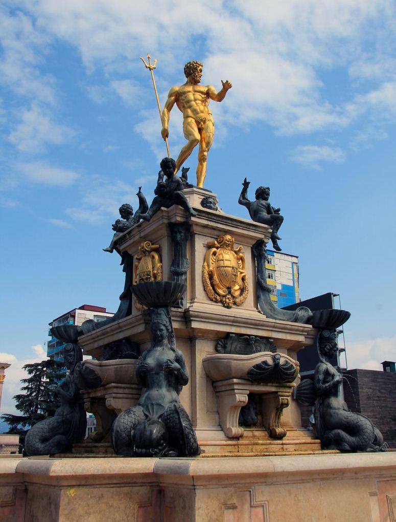 "Fountain ""Neptune"" in Batumi"