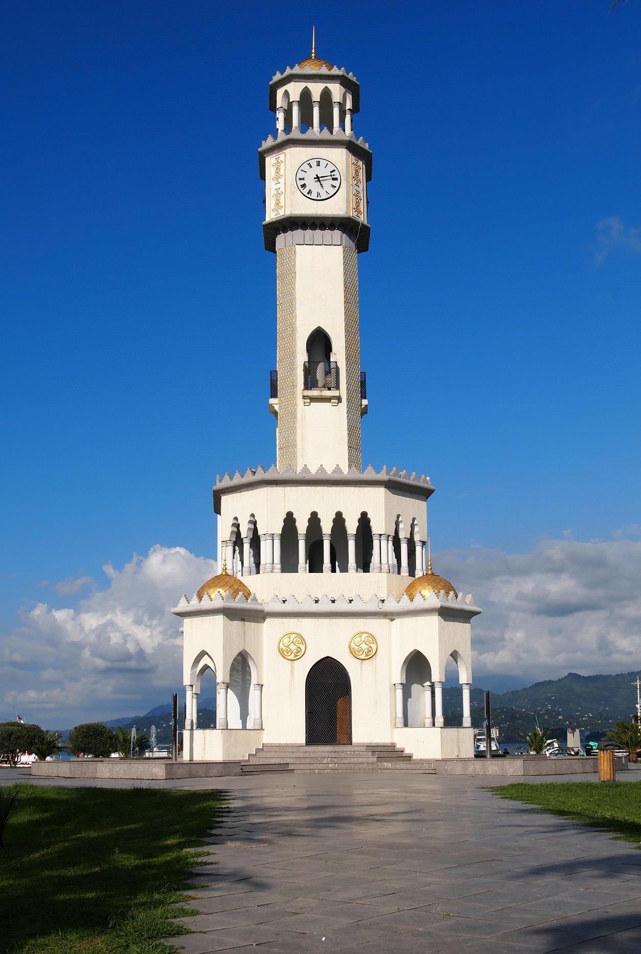 Chacha Fountain in Batumi