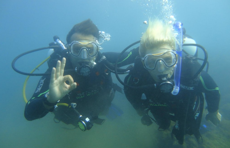 Diving in Batumi