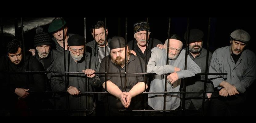 "The play ""White flags"" in the Batumi Drama Theater on the New Stage"